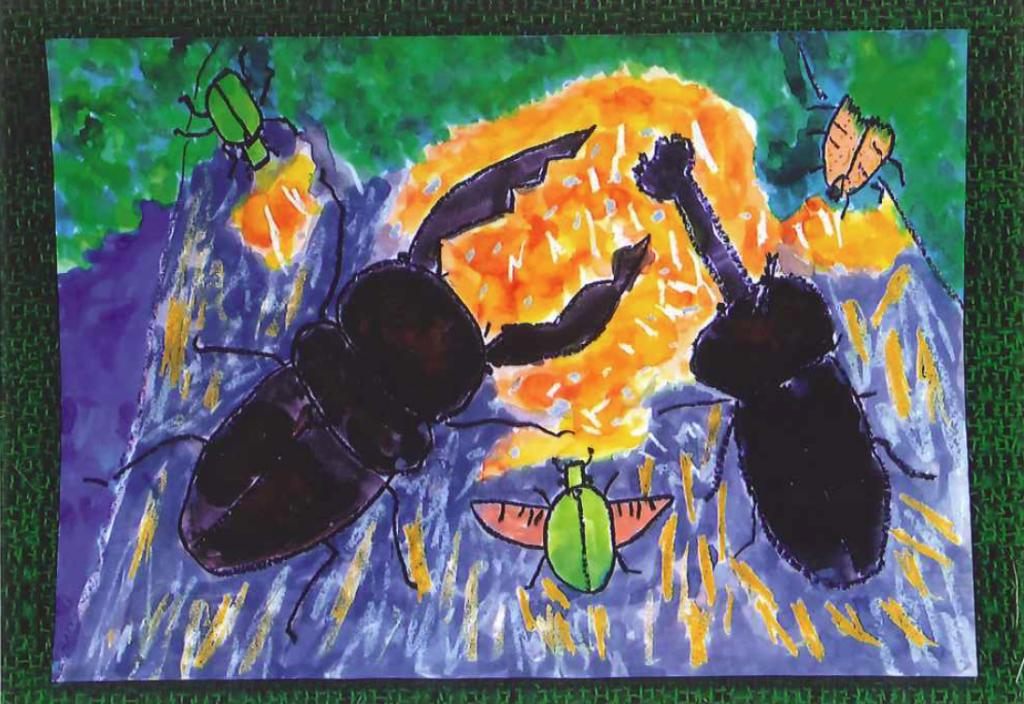 子供絵画10|横浜で絵画教室ならあゆみ会絵画教室